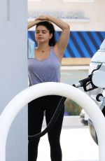 ARIEL WINTER at a Gas Station in Studio City 06/22/2018