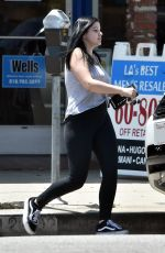 ARIEL WINTER Make-up Free Out in Studio City 06/22/2018