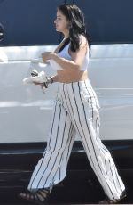 ARIEL WINTER Shopping at Housewares Store Bed in Studio City 06/20/2018