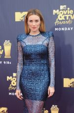ARIELLE VANDENBERG at 2018 MTV Movie and TV Awards in Santa Monica 06/16/2018