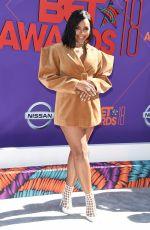 ASHANTI at BET Awards in Los Angeles 06/24/2018