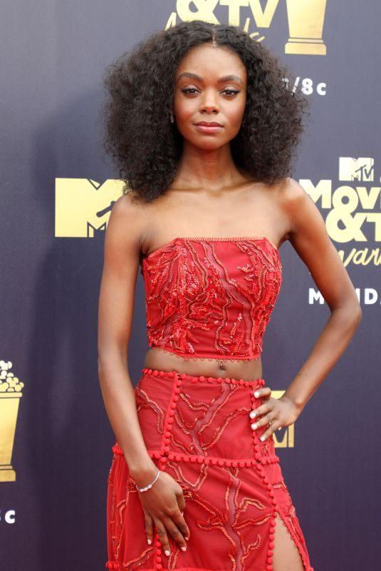 ASHLEIGH MURRAY at 2018 MTV Movie and TV Awards in Santa Monica 06/16/2018