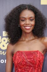 ASHLEIGH MURRAY at 2018 MTV Movie and TV Awards in Santa Monica 06/16/2018