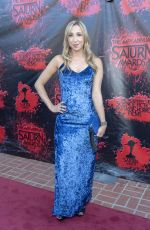 ASHLEY EDNER at 2018 Saturn Awards in Burbank 06/27/2018