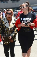ASHLEY GRAHAM and NOOR TAGOURI Arrives at Cash and Rocket Charity Event in Malibu 06/09/2018