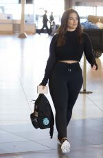 ASHLEY GRAHAM Arrives at Airport in Montreal 06/26/2018