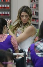ASHLEY GREENE at a Nail Salon in Beverly Hills 06/21/2018