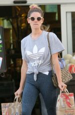 ASHLEY GREENE Shopping at Bristol Farms in Beverly Hills 06/04/2018