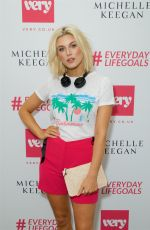 ASHLEY JAMES at Michelle Keegan Very Collection Launch Party in London 06/04/2018