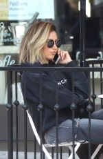 ASHLEY TISDALE Out and About in West Hollywood 06/15/2018