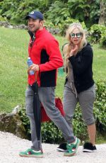 AVRIL LAVIGNE on Vacation on Lake Como in Italy 05/31/2018