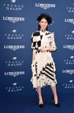 AYAKA MIYOSHI at Prix de DIane Longines 2018 in Chantilly 06/17/2018