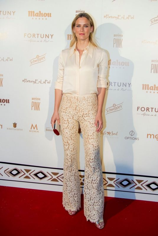 BAR REFAELI at Africa on the Skin Gala in Madrid 06/27/2018