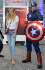 BAR REFAELI at Marvel Summer of Super Heroes Opening at Disneyland in Paris 06/09/2018