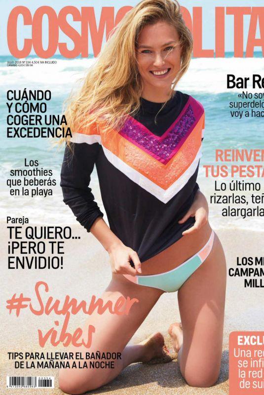 BAR REFAELI in Cosmopolitan Magazine, Spain July 2018