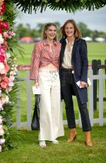 BEA FRESSON at Cartier Queens Cup Polo in Windsor 06/17/2018