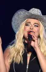 BEBE REXHA Performs at 2018 CMA Fest at Nissan Stadium in Nashville 06/10/2018