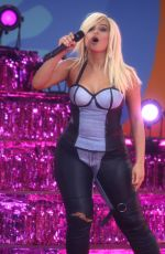 BEBE REXHA Performs at Good Morning America Summer Concert Series in New York 06/22/2018
