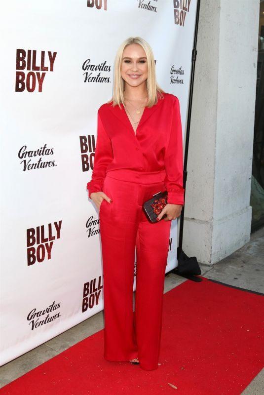 BECCA TOBIN at Billy Boy Premiere in Los Angeles 06/12/2018