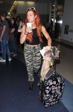 BECKY LYNCH Arrives at Los Angeles International Airport 06/06/2018