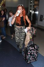 BECKY LYNCH at Los Angeles International Airport 06/06/2018