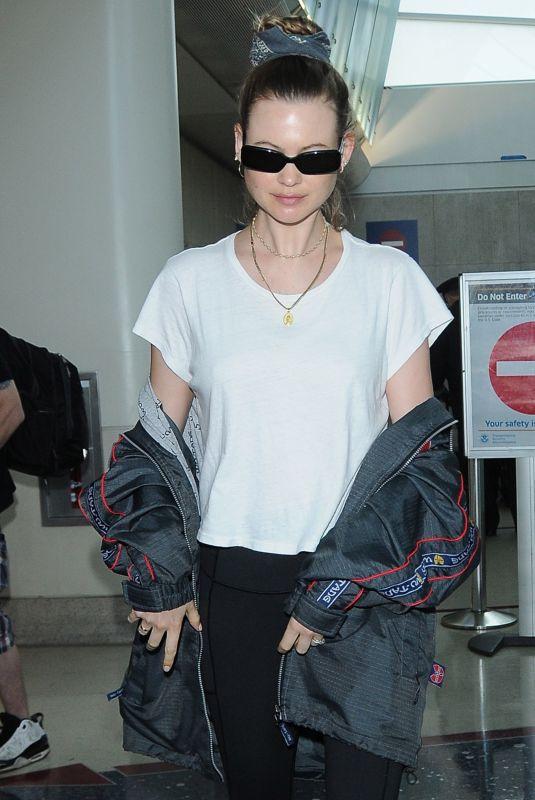 BEHATI PRINSLOO at LAX Airport in Los Angeles 06/04/2018