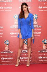 BELEN RODRIGUEZ at Fifa World Cup Russia 2018 TV Show in Milan 06/07/2018