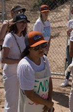 BELLA and DANI THORNE at Rally in Support of Refugee Children and Families Seeking Asylum in Tornillo 06/24/2018