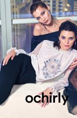 BELLA HADID and KENDALL JENNER for Ochirly