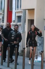BELLA HADID and The Weeknd Out in Paris 05/31/2018