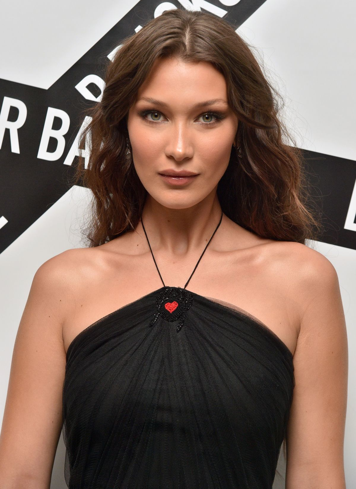 Bella Hadid At Dior Backstage Collection Dinner In New York