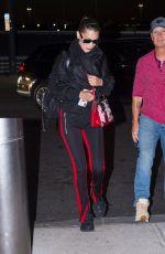 BELLA HADID at JFK Airport in New York 06/14/2018