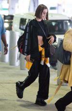 BELLA HADID at JFK Airport in New York 06/24/2018