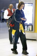 BELLA HADID at JFK Airport in New York 06/24/2018