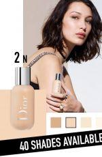 BELLA HADID for Dior Backstage 2018 Campaign