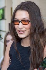 BELLA HADID Out and About in Paris 06/22/2018