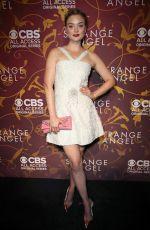 BELLA HEATHCOTE at Strange Angel Premiere in Hollywood 05/04/2018