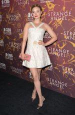 BELLA HEATHCOTE at Strange Angel Premiere in Hollywood 06/04/2018