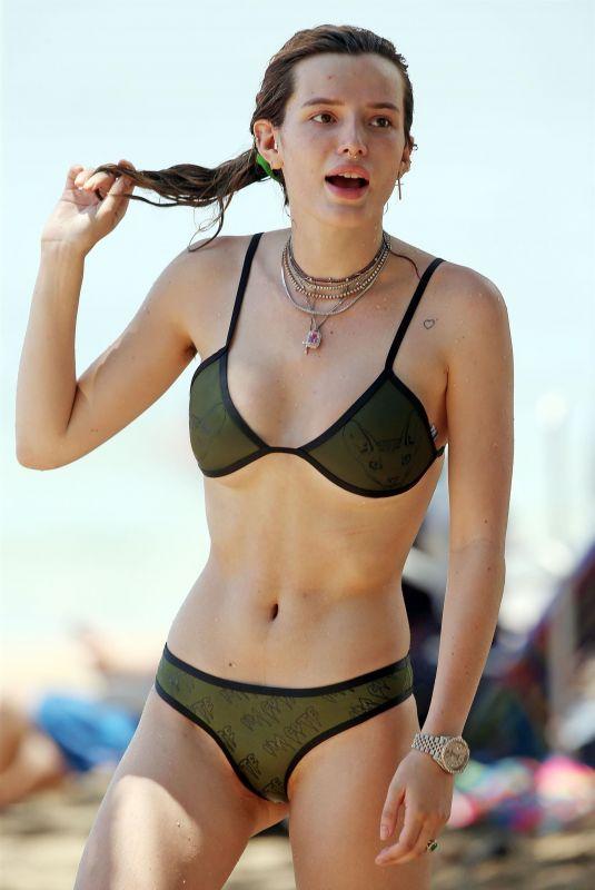 BELLA THORNE in Bikini at a Beach in Maui 06/09/2018