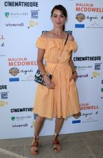 BERENICE BEJO at Malcolm McDowell Retrospective at Cinematheque Francaise in Paris 06/20/2018