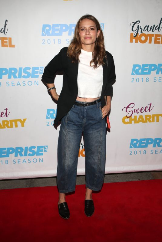 BETHANY JOY LENZ at Reprise 2.0 Presents Sweet Charity Play in Los Angeles 06/20/2018
