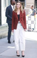 BETTY GILPIN at AOL Build in New York 06/14/2018
