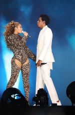 BEYONCE and Jay-Z at On the Run II Tour in Copenhagen 06/23/2018
