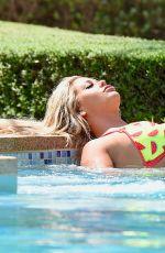 BIANCA GASCOIGNE in Bikini at a Pool in Cape Verde 06/10/201
