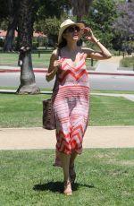 BLANCA BLANCO at a Park in Los Angeles 06/27/2018