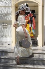 BLANCA BLANCO at a Temple in Malibu 06/28/2018