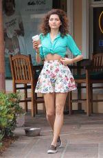 BLANCA BLANCO Out for Coffee in Malibu 06/18/2018