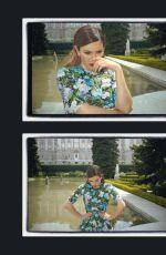 BLANCA SUAREZ in Glamour Magazine, Spain July 2018