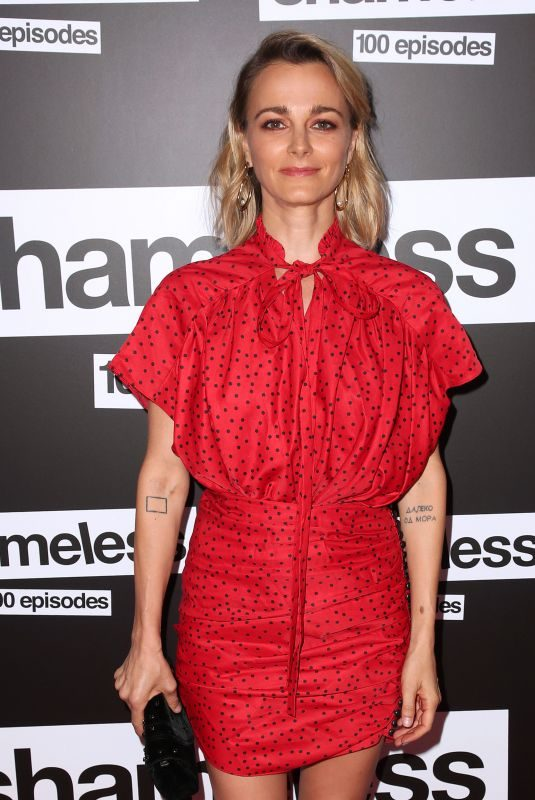 BOJANA NOVAKOVIC at Shameless 100th Episode Celebration in Los Angeles 06/09/2018