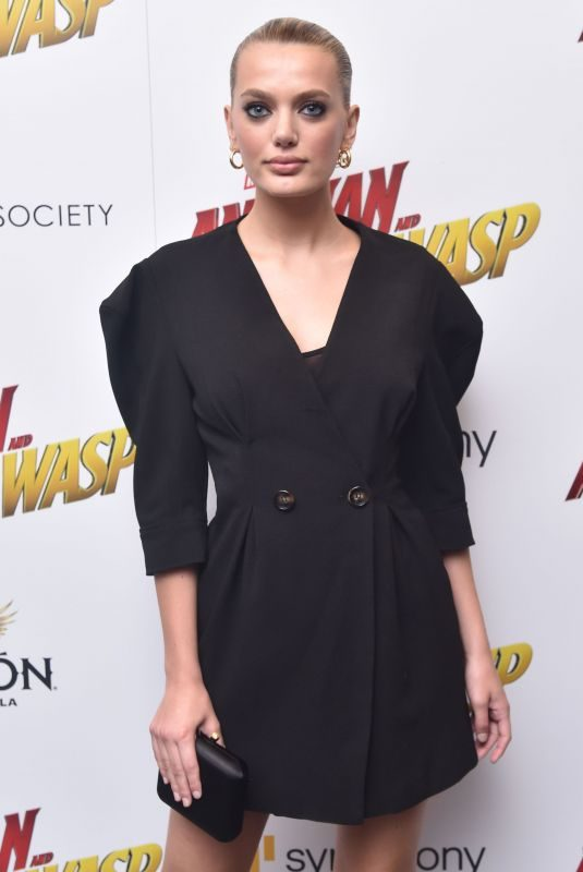 BREGJE HEINEN at Ant-man and the Wasp Premiere in New York 06/27/2018